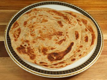 Lacha Paratha (Layered Flat Bread)