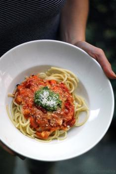 ónozott spagetti fogyás