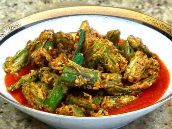 Okra Tomato Curry