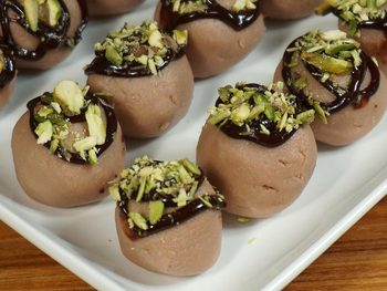 New Chocolate Sandesh (Truffles)