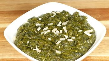 Sarson Ka Saag - Mustard Greens with Spinach