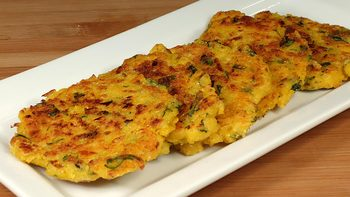 Spicy Corn Patties - Fritters
