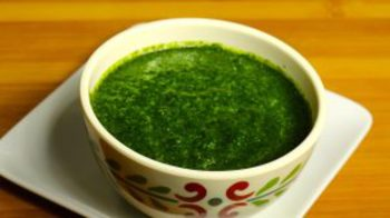 Mint Chutney - Indian Condiment