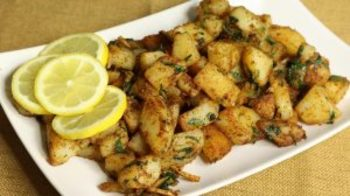 Aloo Chaat (Spicy Potato Snack)