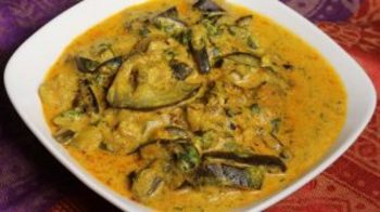 Dahi Baingan saut�ed Eggplant with Yogurt
