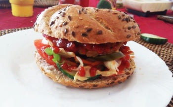 Csicseribors� burger