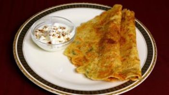 Oat Dosa (Spicy Pancake)