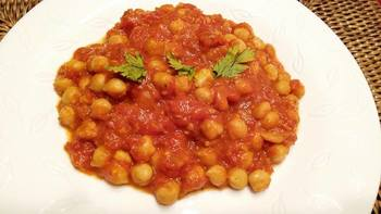 Chana masala (csicseriborsó curry)