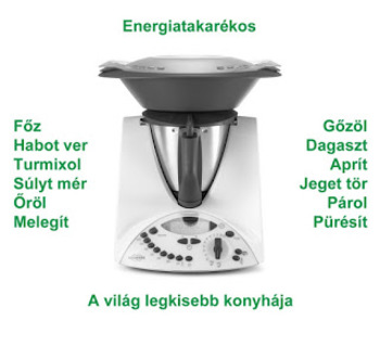 Thermomix, a mini konyha