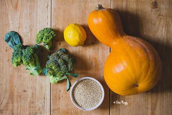 65bd889698 Sütőtökös-brokkolis quinoa saláta (vegán)