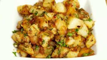 Chatpate Aloo (Spicy Stir-Fry Potatoes)