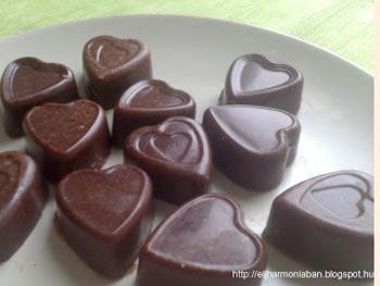 da3d59d51e Házi készítésű csokoládé - vaníliás, narancsos