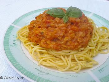 ónozott spagetti fogyás)
