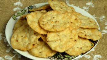 Masala Puri - Spicy Crackers