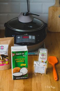 94ba3ce564b3 Kókuszjoghurt (laktózmentes, gluténmentes, vegán) + Smartchef szakács robot  készülék