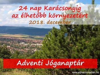 Adventi naptár - 24 nap Karácsonyig egy élhetőbb környezetért 30add76e44