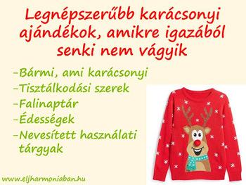 293a53f426 Legnépszerűbb karácsonyi ajándékok, amiknek senki nem örül igazán